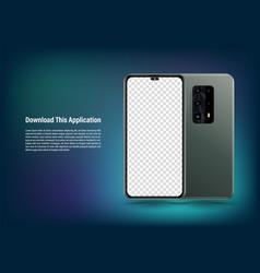 Smartphone mockup vector