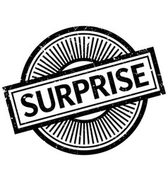 Surprise rubber stamp vector
