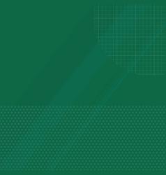 green school background vector image