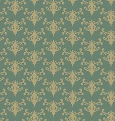 retro green background vector image vector image