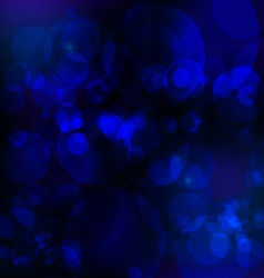 Abstract bule nigth background vector image vector image