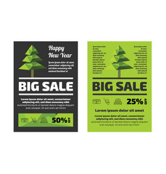 big sale flayer template vector image vector image