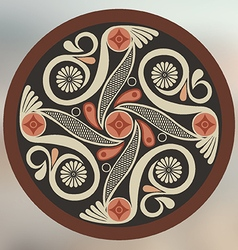 Byzantine art vector image