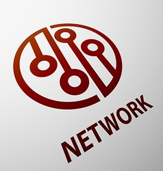 Network Stock vector image vector image