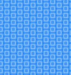 Abstract Blue Rounded Squares Pattern vector image