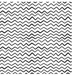 Abstract hand draw seamless zig zag pattern vector