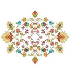 Artistic ottoman pattern series thirty three vector
