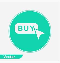 buy button icon sign symbol vector image