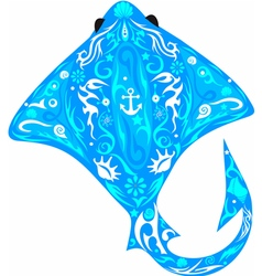 cramp fish vector image