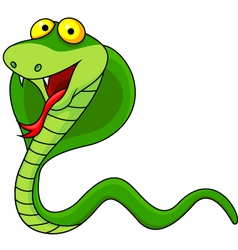 Cute Cobra Cartoon vector image