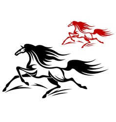 Horse tattoos vector