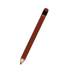 pencil erase vector image