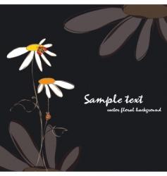 spring summer floral vector image