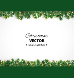 Christamas tree decoration isolated on white vector