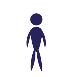 man male people icon pictogram vector image vector image