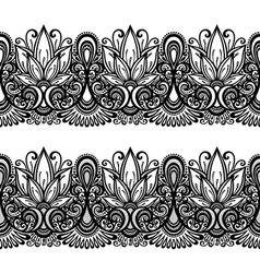 Decorative floral frame vector