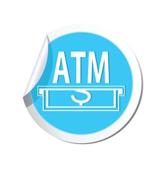 Atm BLUE LABEL vector
