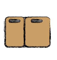 fridge icon image vector image