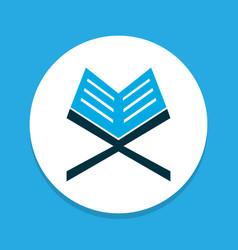 Koran icon colored symbol premium quality vector