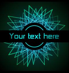 modern digital template color equalizer vector image