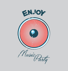 Music party poster vector