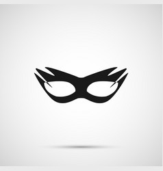 Sex mask isolated on white background vector