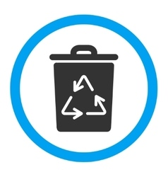 Trash Can Rounded Icon vector image