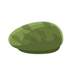 green beret vector image