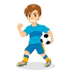 Soccer Kid vector image vector image
