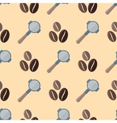 coffee barista seamless pattern vector image
