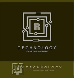 Future technology logos vector