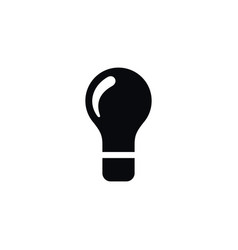 isolated innovation icon bulb element can vector image