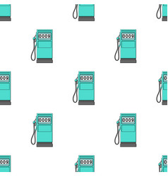 Petrol filling stationoil single icon in cartoon vector