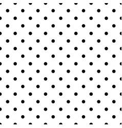 seamless dot pattern vector image