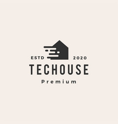 tech house home mortgage roarchitect hipster vector image