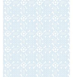 blue weaving vector image vector image