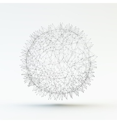 3d Abstract Sphere vector image