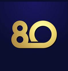 80 simple golden vector image