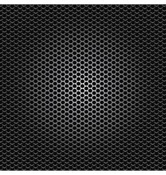 Black metal dot perforated texture vector