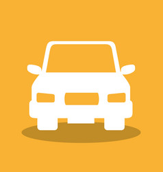 Car vehicle auto icon vector