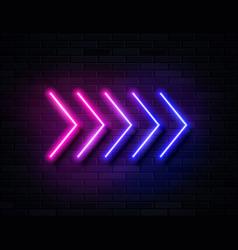 Futuristic sci fi modern neon pink and blue vector
