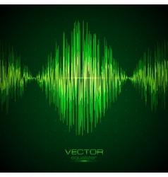 Green equalizer vector image