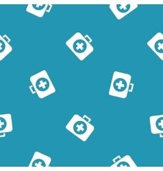 Medicine chest icon pattern vector image