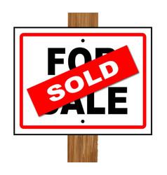 Sold vector