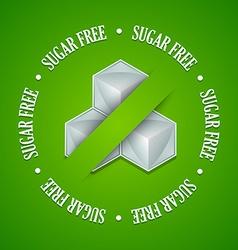 Sugar free symbol vector