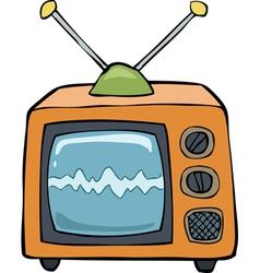 orange TV vector image