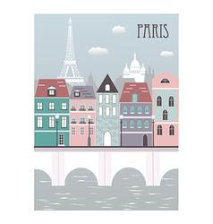 Paris city vector image vector image