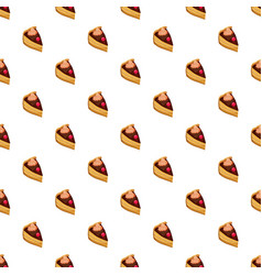 sweet cake pattern vector image