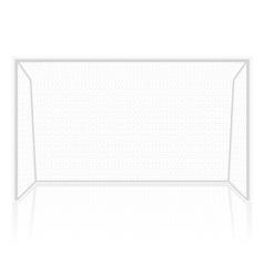 football soccer gates goalie vector image vector image