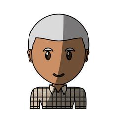 Adult face cartoon vector